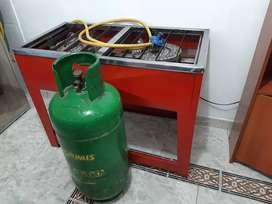 Estufa a gas industrial