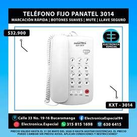 TELÉFONO FIJO PANATEL KXT-3014