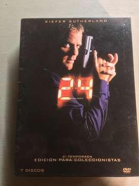 24. Temporada 2. Edición De Coleccionador Original impecable basicamente nueva