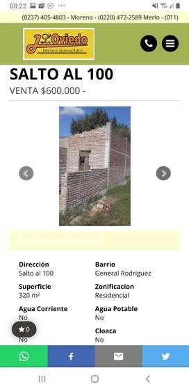 LOTE ESCRITURADO EDIFICADO A TERMINAR B GUEMEZ RODRIGUEZ