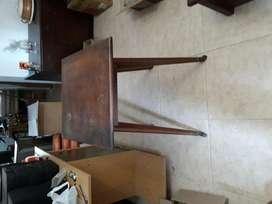 Mesa giratoria para Televisor, Antigua