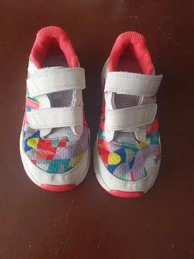 Tenis, zapatos niña talla 27