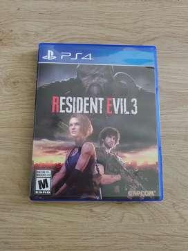 Resident Evil 3 Ps4 Original Garantía