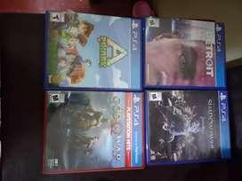 Venta discos PS4