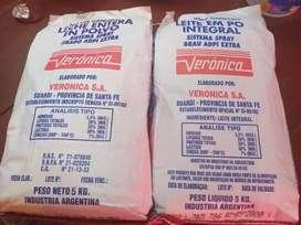 Vendo leche en polvo de 5 kilos rinde 20 litros