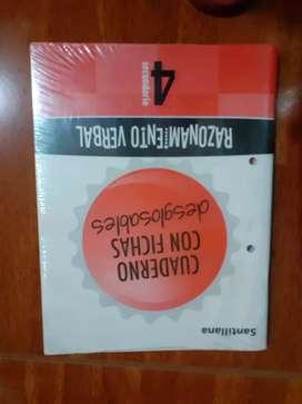 Libro razonamiento verbal Santillana 4