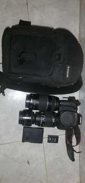 Camara Canon EXOS Rebel T6i