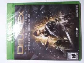 Deus Ex Mankind Divided Xbox One Nuevo en Fisico