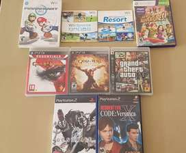 Juegos Wii Ps2 Ps3 Xbox 360 Venta-Cambio