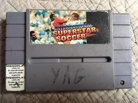 Super star soccer super nes