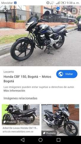 Moto honda cbf 150 modelo 2008