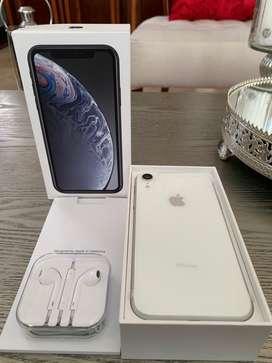 IPhone XR 128 GB color Blanco Nuevo de caja abierto bandas (No cambios)