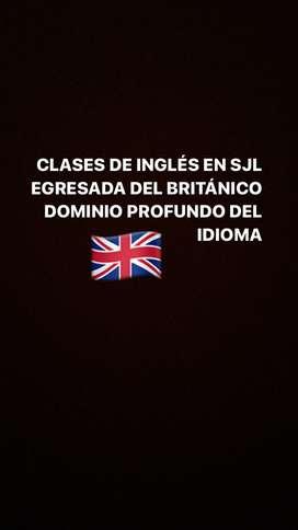 CLASES DE INGLÉS SJL