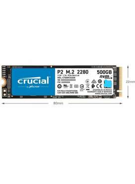 Disco Ssd Crucial P2 500gb - Ct500p2ssd8