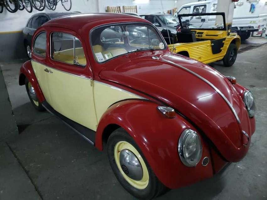 vw escarabajo aleman 1960 , unico! autodesco 0
