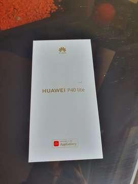 Vendo Teléfono Huawei P40 lite nuevo con todo sus accesorios