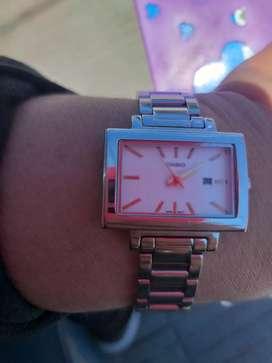 Canjeo reloj casio dama