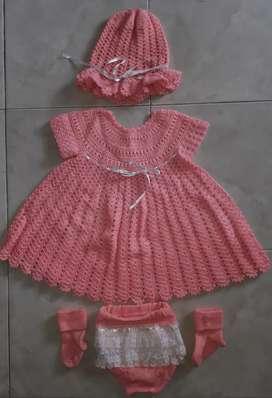 Vestido Tejido de Niña