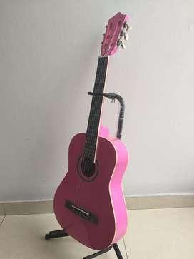 guitarra acustica pura madera
