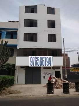 VTA DE EDIFICIO 5 PISOS COSTADO MEGAPLAZA CA. LOS CLAVELES 138