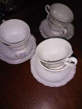 Juego cafe de porcelana