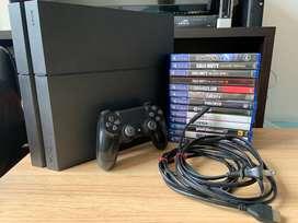 PS4 1TB SSD 1 control, ps camera y 13 juegos NEGOCIABLE