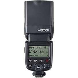 Flash Godox V850II universal para camaras canon, nikon, sony