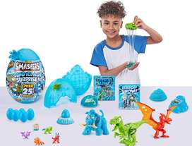 Zuru Smashers Dino Ice Age Huevo Dinosaurio 25 Sorpresas