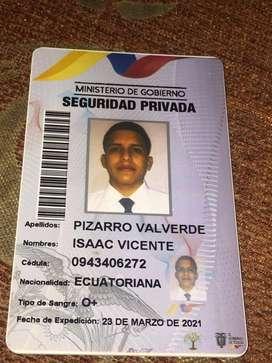 BUSCO TRABAJO DE GUARDIA DE SEGURIDAD