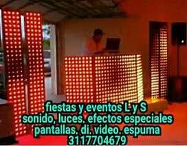 Alquiler pantalla gigante LED pixel
