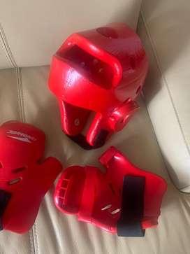 Equipo de proteccion para Taekwondo
