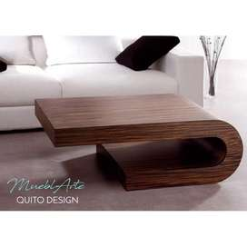 Mesa de centro C minimalista