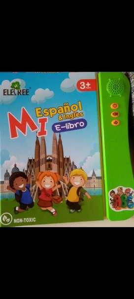 Libro didáctico Español-Ingles