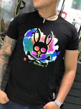 Camisetas masculinas 2306 psycho bunny envio gratis