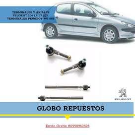 Repuestos Peugeot renault Terminales Axiales 206 Riobamba loja ambato