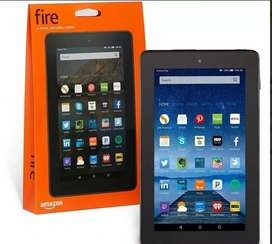 Tablet amazon fire 7 8GB black QC Dual Brand Wifi 2 Cama.