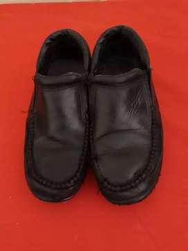 Zapatos de cuero escolares n37