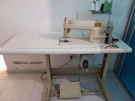 Maquina de coser Industrial JONTEX  Con mesa y motor potente