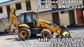 RETROEXCAVADORA JCB 3CS 2013