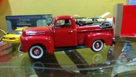 Carro de colección Ford F 100