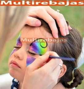 Ideal Pintura de Cara  para Disfraces De Niños y Payasos