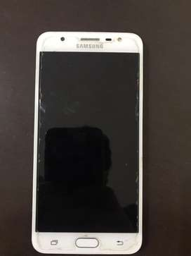 Samsung j7 prime dorado