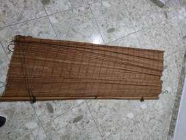 Persona en bambú