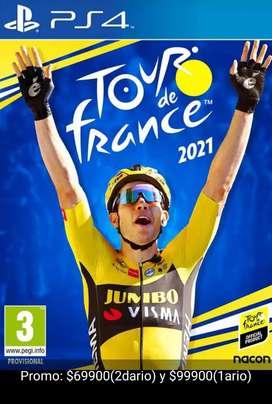 Tour France ps4 No FISICO