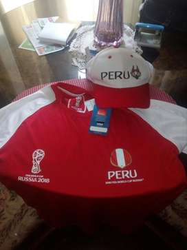 Conjunto Oficial Peru Rusia 2018 Original