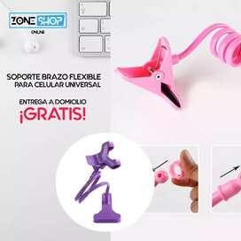 Soporte Brazo Flexible para Celular ($8)