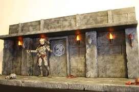 dioramas depredadores