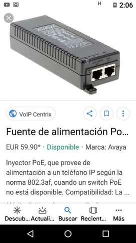 LOTE DE 30 UNIDADES DE FUENTES DE ALIMENTACIÓN PARA TELEFONÍA IP AVAYA