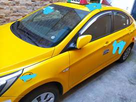 Taxi hyundai accent 2018 1.4