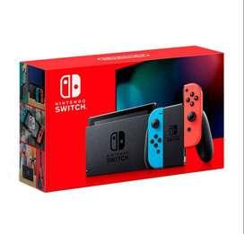 Consola Nintendo Switch Neon + 3 Juegos